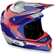 Red/White/Blue F4 Helmet
