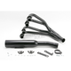 4-into-1 Black Header/Black Canister Style Exhaust System - 201-1401