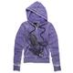 Womens Dark Purple Sector Hoody