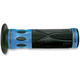 Blue Model 728 Superbike Grips - 728BUOE