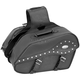 Studded Large Quantum Windswept Saddlebags - 10-8993