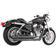 Black Ceramic Patriot Long Exhaust System - HD00119