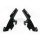 Night Shades Black No-Tool Trigger-Lock Hardware Kit to Change from Sportshield to Fats/Slim - Plates Only - 2321-0223