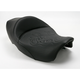 14 1/2 in. Wide Tattoo Leather Solo Seat - 897-06-0112