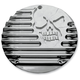 Chrome Machine Head Derby Cover - C1074-C