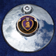 Tank 1.8 Inch Fuel Door Coin Mount With Engraveable Purple Heart 2-Sided Coin - JMPC-FD-PURPLEHE