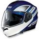Blue/White N104 N-Com Modular Helmet