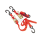 Red 1 in. Ratchet Tie Downs - 10-0522