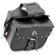 Riveted Slant Flap-Over Style Saddlebags - 3036RVT