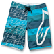 Blue MTLB Stripe Boardshorts