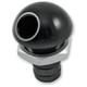 45 degree Black Bilge Fitting - 0403031