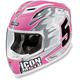Pink Airframe Team Helmet