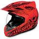 Red Variant Etched Helmet