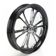 Front 23 in. x 3.75 Czar Eclipse One-Piece Forged Aluminum Wheel - 233759032A86E