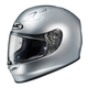 Metallic Silver FG-17 Helmet