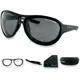 Matte Black Criminal Street Series Sunglasses - ECRI001