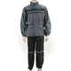 Black/Charcoal VX-300 Viper Rainsuit