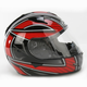 Red/Black/White Ramper IS-16 Helmet