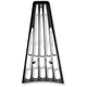 Black Anodized Chrome Frame Grille - 03-653