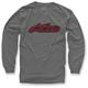 Charcoal Full Grain Long Sleeve Shirt