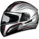 FX-100 Silver Waves Helmet