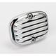 Rear Chrome Retro Brake Master Cylinder Cover - 03-451