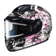 Black/Pink/White CL-16SN Virgo Helmet w/Electric Shield
