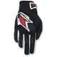 Black/Red Circuit Gloves