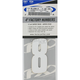 Factory 4 in. Numbers - FX08-90018