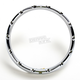 Chrome 7 in. Fire-Ring LED Bezel w/Turn Signals - 08-406