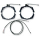 LED Light Ring Kit for J&M 7 1/4 Inch Fairing Speakers - LRHD-FS50