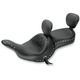 Vaquero Wide Touring Seat with Driver Backrest - 79687