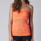 Womens Atomic Punch Hello! Floral Cami