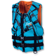 Black/Turquoise Womens Electra Vest