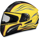 FX-100 Yellow Waves Helmet