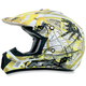Youth Yellow FX-17Y Trap Helmet