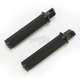 Black Ops Tracker Footpegs w/45 degree Male Mounts - 0035-1087-SMB