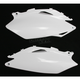 White Side Panels/Rear Number Plates - 2141840002