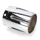 3 in. Tapered w/Grooves Exhaust Tip - 3017