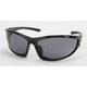 Black Safety C-120 Sunglasses w/Smoke Lens - C-120BK/SM