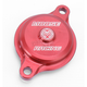 Red Magnetic Oil Filter Covers by ZipTy - 0940-1002