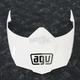 White AX-8 Dual Sport Evo Visor w/Screws - KIT76109001