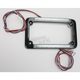 Dual-Row LED License Plate Frame w/Turn Signals - 02629