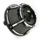 Black Slot Track Inverted Series Air Cleaner Kit - 18-925