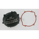 Factory Racing Black Clutch Cover - CC-32AB