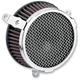 Chrome Plain Air Cleaner Kit - 606-0103-03
