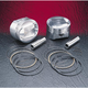 High-Performance Forged Piston Kit - 3.895 in. Bore/10.5:1 Ratio - VT2712
