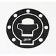 Suzuki Gas Cap Carbon Fiber Cover - 5030-CA-SUZ