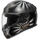 Black/Silver RF-1100 Conqueror Helmet