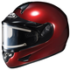 Metallic Wine CL-16SN Helmet w/Electric Shield